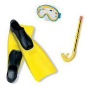 Набор для подводного плавания детский для девочек