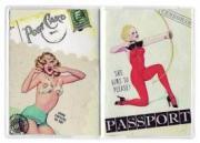 """Обложка на паспорт """"Выстрел в сердце"""""""