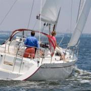 Тест драйв на яхте