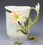 """Кружка для любителя чая """"Орхидея"""""""